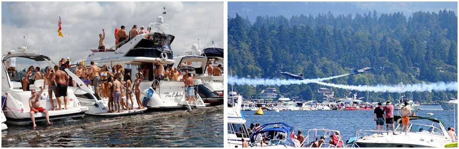 seattle wa  luxury yacht charter